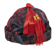 Oriental Mandarin Hat Royalty Free Stock Photo