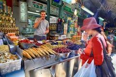 Oriental market Carmel, Tel Aviv, Israel Stock Photo