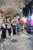 Oriental market in old Jerusalem Royalty Free Stock Photos