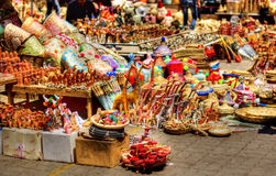 Oriental markets. The magic of eastern cities, colors and perfumes Royalty Free Stock Image