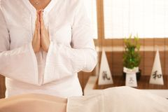 Oriental massage Stock Photography