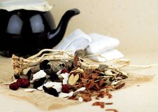 Oriental Medicine. And herbs Royalty Free Stock Image