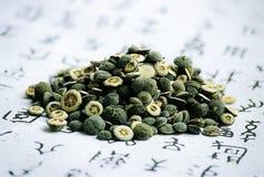 Oriental Medicine. Herbs Royalty Free Stock Photo