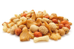 Oriental mix snack Royalty Free Stock Image