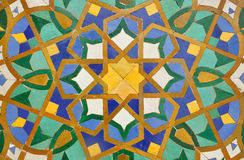 Oriental mosaic decoration Stock Photography
