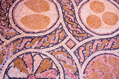 Oriental mosaic floor background Royalty Free Stock Photos