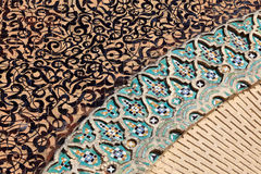 Oriental mosaic in Morocco Royalty Free Stock Photo