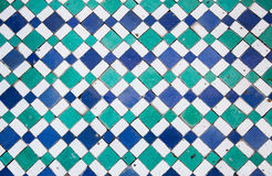 Oriental mosaic in Morocco, North Africa Stock Photos