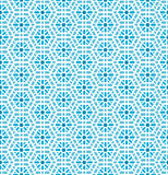 Oriental mosaic seamless pattern Stock Photography