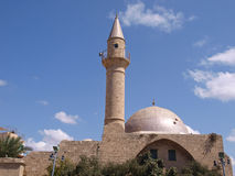 Oriental Muslim Mosque tower Royalty Free Stock Photo