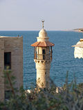 Oriental Muslim Mosque tower Jaffa Israel Royalty Free Stock Photos