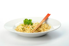 Oriental Noodles Stock Photography