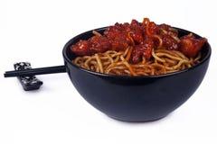 Oriental Noodles Stock Photos