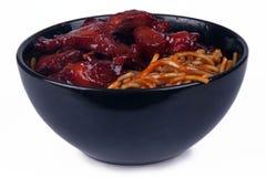 Oriental Noodles Royalty Free Stock Photos