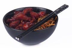Oriental Noodles Stock Photo