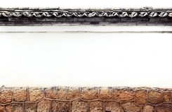 Oriental old wall texture Stock Photo