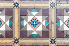 Oriental ornament on the floor Stock Photo