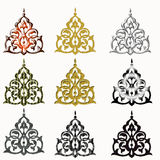 Oriental ornament isolated Stock Photo