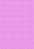 Oriental ornament of Paisley in pastel purple back Stock Image