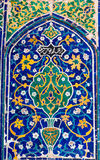 Oriental ornament in Samarkand, Uzbekistan Royalty Free Stock Photography