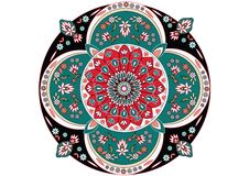 Oriental ornament vector. Oriental ornament on white, vector royalty free illustration