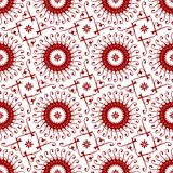 Ornamental Oriental Royal Vintage Arabic Chinese Red Floral Seamless Abstract Pattern Texture Wallpaper. Oriental Ornamental Abstract Floral Seamless Repetitive vector illustration