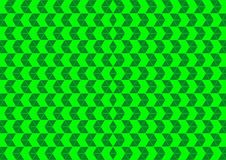 Techno Geometric Oriental Ornamental in Neon Green Colour Seamless Pattern Background Wallpaper Royalty Free Stock Images