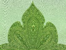 Oriental ornamented textile Royalty Free Stock Image