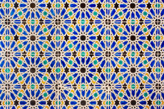Oriental ornaments. Tiled background, oriental ornaments from Tunis Royalty Free Stock Photos