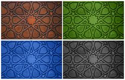 Oriental Ornaments Stock Images