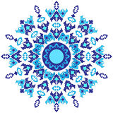 Oriental ottoman design forty one. Series of patterns designed by taking advantage of the former Ottoman Royalty Free Stock Photography