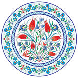Oriental ottoman design twenty-six. Series of patterns designed by taking advantage of the former Ottoman Stock Images