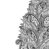 Oriental paisley pattern Stock Images