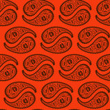 Oriental paisley seamless pattern Stock Photography