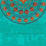 Oriental paisley seamless pattern stock illustration