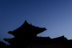 Oriental palace. The ancient palace Changgyeonggung in Seoul, Korea Stock Images