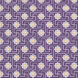 Oriental pattern. Of geometric elements Royalty Free Stock Image