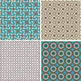 Oriental pattern. Of geometric elements Stock Photography