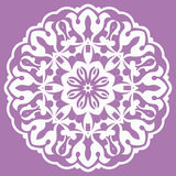 Oriental pattern with arabesques and floral elements Royalty Free Stock Photo