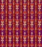 Oriental pattern background stock illustration
