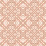 Oriental pattern with damask, arabesque and floral elements. Seamless abstract background Stock Images