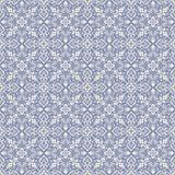 Oriental pattern with damask, arabesque and floral elements. Seamless abstract background Royalty Free Stock Photography