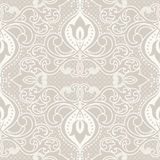 Oriental pattern with damask, arabesque and floral elements. Stock Images