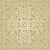 Oriental pattern with damask, arabesque and floral elements. Royalty Free Stock Photos