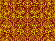 Oriental Pattern. With Detailed Decoration - Background Illustration, Vector Royalty Free Stock Photography