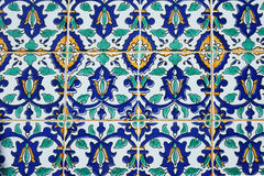 Oriental pattern on the finishing tile Royalty Free Stock Image
