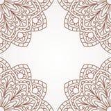 Oriental pattern with mandala.. Stock Photo