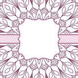 Oriental pattern with mandala.. Royalty Free Stock Image
