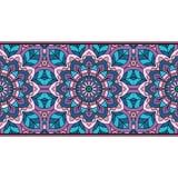 Oriental pattern with mandala.. Royalty Free Stock Photography