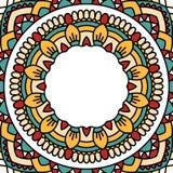 Oriental pattern with mandala.. Stock Image
